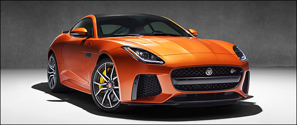 Officieel: Jaguar F-Type SVR Coupé / Cabriolet