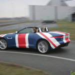 Jaguar F-Type Union Jack