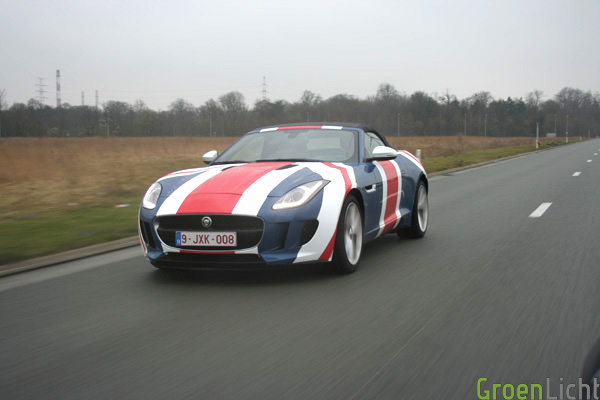 Jaguar F Type Union Jack Test