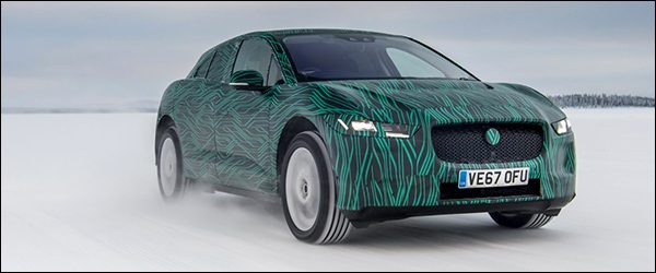 Jaguar I-Pace rekent op snelle laadtijd en krachtige prestaties