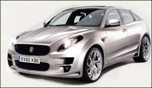 Jaguar SUV schets