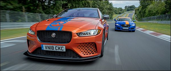 Officieel: Jaguar XE SV Project 8 Ring Taxi (2018)