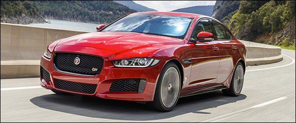 Updates voor de Jaguar XE berline, XF berline en F-Pace SUV (MY2018)