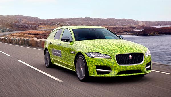 Teaser: Jaguar XF Sportbrake (2017)