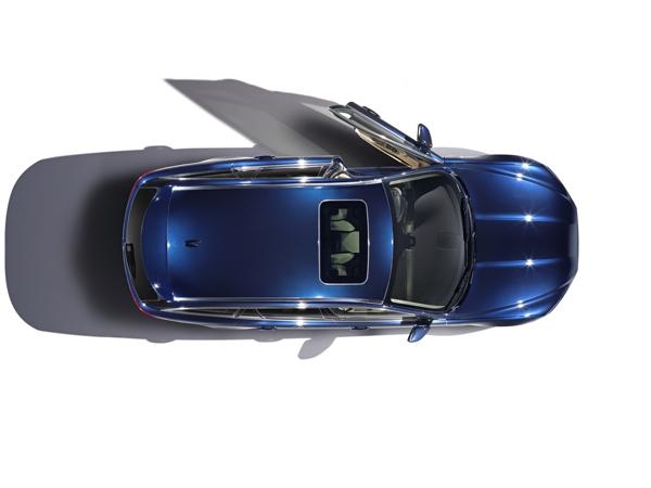 Jaguar XF Sportbrake Birdseye view
