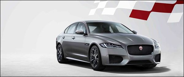 Officieel Jaguar Xf Chequered Flag Special Edition 2019