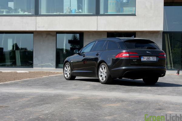 Jaguar XF Sportbrake test