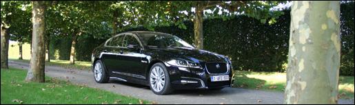 Jaguar XF Diesel 2.2 Rijtest