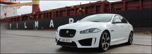 Jaguar XFR-S Rijtest - Header