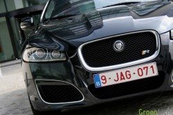 Jaguar XFR test