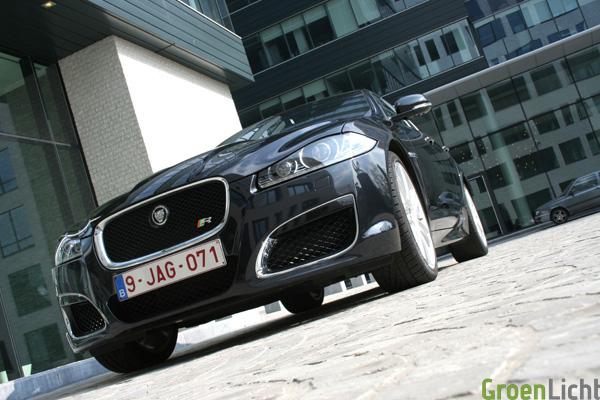 Jaguar XFR test