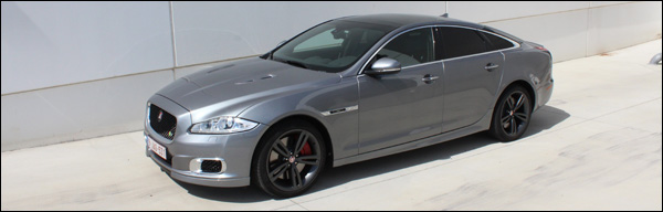 Jaguar XJR Rijtest - Header