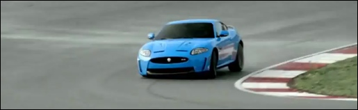 Jaguar XKR-S Circuit Video