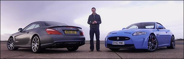 Poll: Mercedes SL63 AMG vs Jaguar XKR-S Cabriolet
