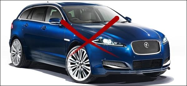 Jaguar geen SUV