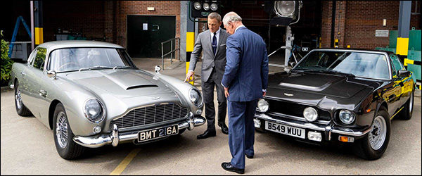 James Bond kiest voor Aston Martin