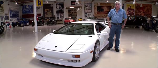 Video: Jay Leno en de Lamborghini Diablo