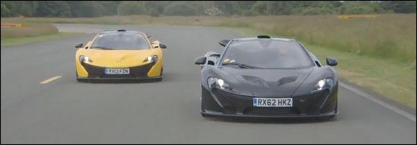 Jay Leno doet de McLaren P1
