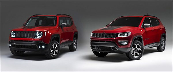 jeep renegade en compass krijgen plug in hybride benzinemotor. Black Bedroom Furniture Sets. Home Design Ideas