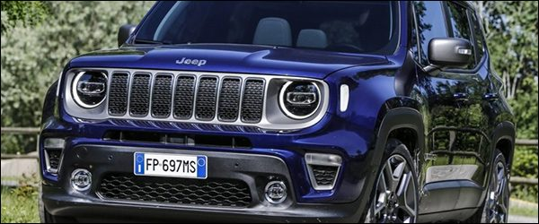 Officieel: Jeep Renegade MY19 facelift (2019)