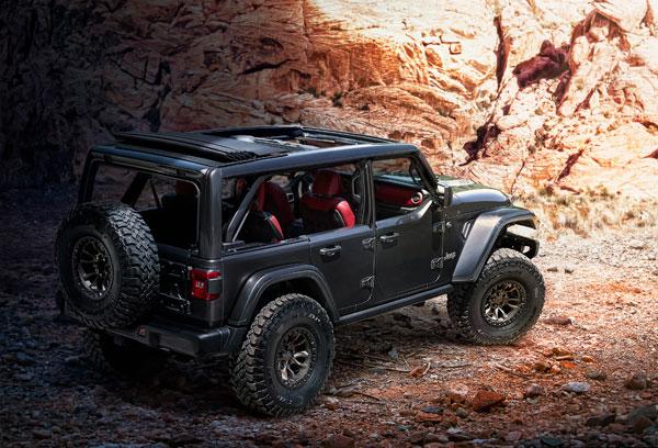 Officieel: Jeep Wrangler Rubicon 392 Concept V8 HEMI (2020)