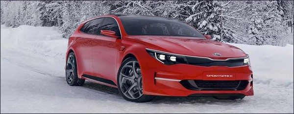 Officieel: Kia SPORTSPACE concept [Optima Wagon?]