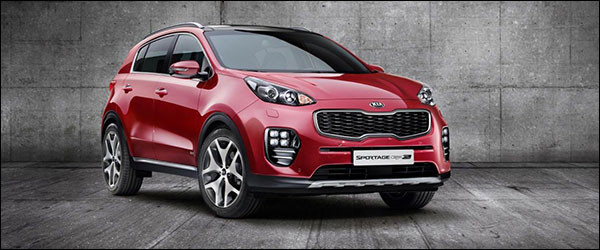 Autosalon Brussel 2016: Kia Line-up