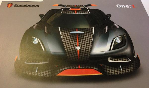 Koenigsegg 1-one