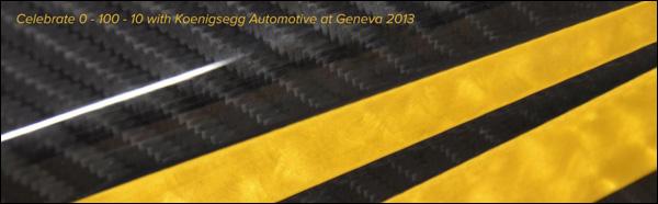 Koenigsegg Geneva 2013 Teaser