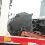 Lamborghini 670-4 SV China Edition crash