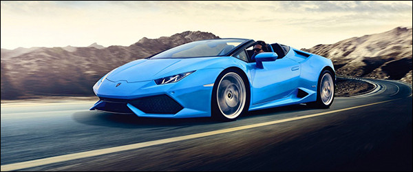 Autosalon Brussel 2016: Lamborghini Line-up