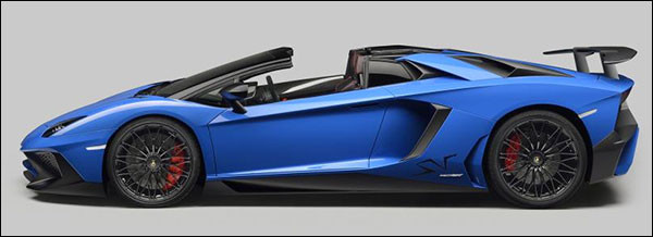 Officieel: Lamborghini Aventador LP750-4 Superveloce Roadster