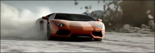 Lamborghini Aventador commercial