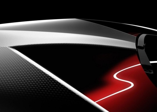 Lamborghini Concept Parijs 2010 Teaser