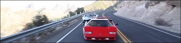 Lamborghini Countach vs Aventador Roadster