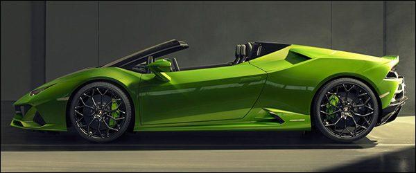 Officieel: Lamborghini Huracan Evo Spyder (2019)