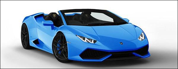 Lamborghini Huracan Spyder komt in 2015