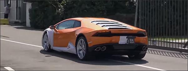 Video: Lamborghini Huracan LP610-4 madness - Sant'Agata Bolognese