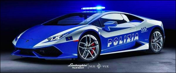 Video: Lamborghini Huracan LP610 Polizia in actie