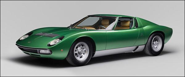 Lamborghini Miura SV prototype is weer gloednieuw dankzij Polo Storico