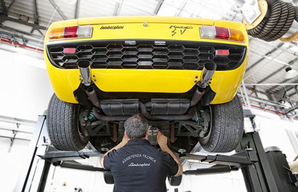 Lamborghini opent Polo Storico: restauratiecentrum en archief