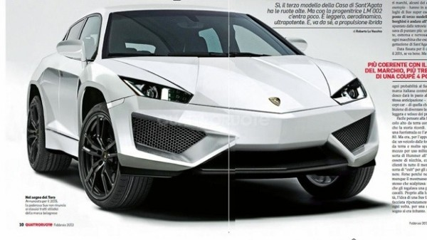 Lamborghini SUV Preview 1