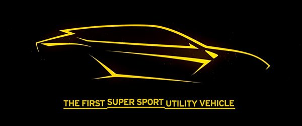 Lamborghini SUV komt op 4 december 2017!