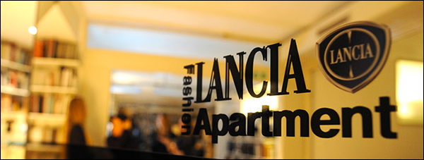 Lancia opent Fashion Apartment in Milaan