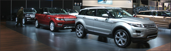 Land Rover Autosalon brussel 2014
