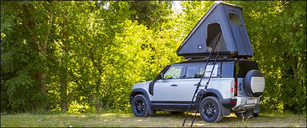 Autohome ontwikkelt daktent voor Land Rover Defender (2020)