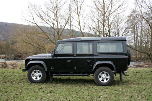 Land Rover Defender Rijtest