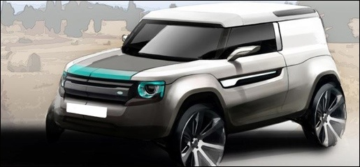 Land Rover Defender Concept preview