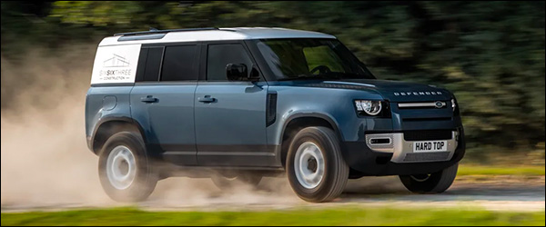Officieel: Land Rover Defender Hard Top (2020)