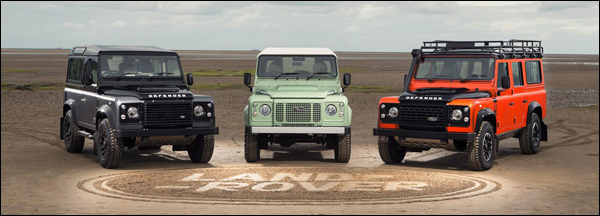 Land Rover Defender Special Editions